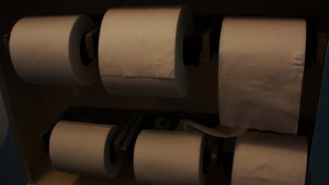 Charmin Toilet Paper Dispenser