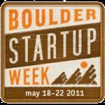Boulder Startup Week 2011