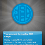 Happy Foursquare Day!