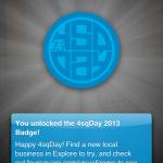 Happy Foursquare Day!