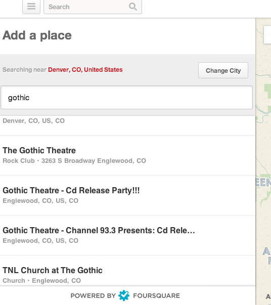 Pinterest search of Aggie Theatre on Foursquare with Bad results