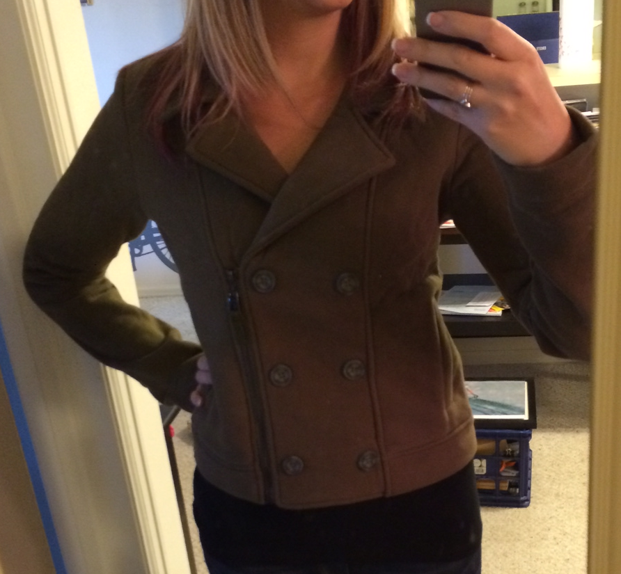 Ark n Co Ivonna Double Breasted Cotton Jacket Front View - Stitch Fix