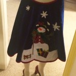 DIY – Ugly Sweater Skirt for an Ugly Sweater Christmas Party