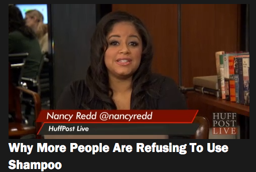 Why People are Refusing to Use Shampoo on Huffington Post Live