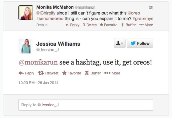 @Jessica_J of Chirpify's Reply to #sendmeoreo