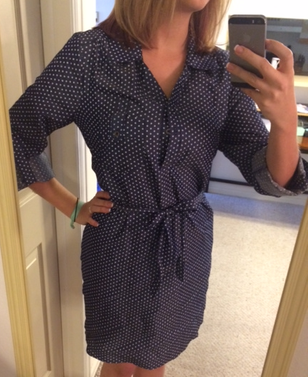 41 Hawthorn - Sedona Dot Print Shirtdress - Stitch Fix