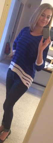 RD Style - Talent Colorblock Stripe Hi-Lo Sweater - Stitch Fix