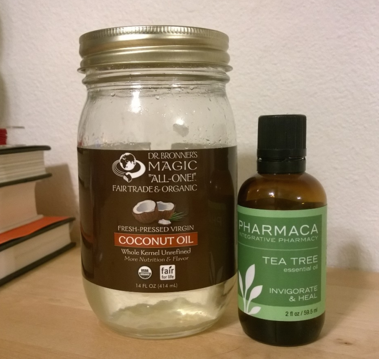 Natural Sunburn Remedy - Tea Tree Oil and Coconut Oil