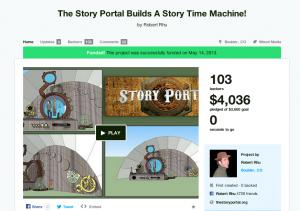 Robert Rhu — The Story Portal's Kickstarter Campaign