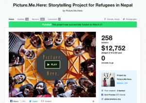 Brigid McAuliffe — Picture.Me.Here'a Kickstarter Campaign