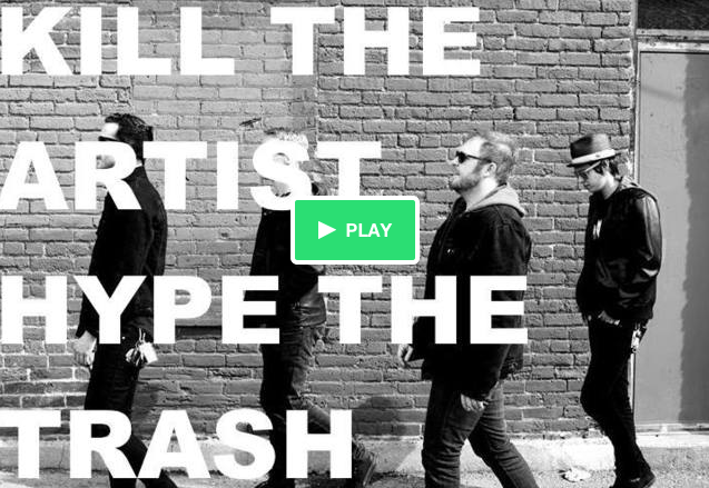 Wiredogs Kickstarter for Kill the Artist Hype the Trash