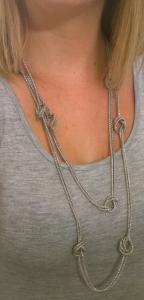 Stitch Fix Pixley Danielle Long Knot Necklace