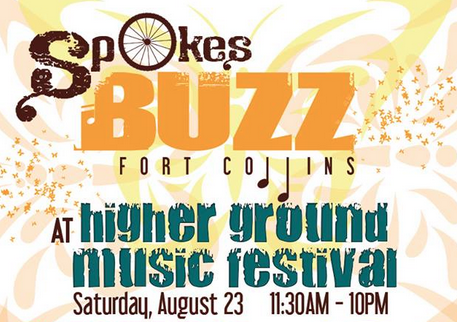 SpokesBUZZ at Higher Ground Music Festival 2014