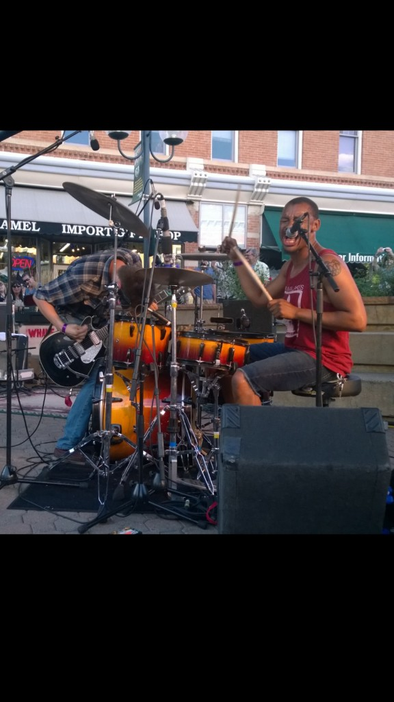 In the Whale on Old Town Square at Bohemian Nights at New West Fest 2014 #FoCoMusic