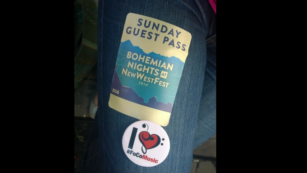 Guest Pass at Bohemian Nights at New West Fest 2014 #FoCoMusic