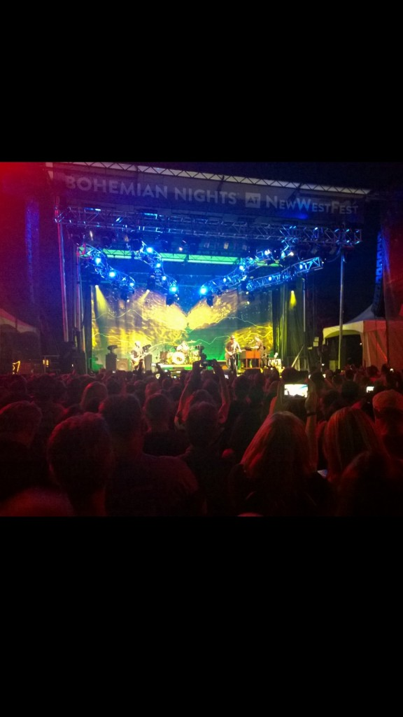Devotchka Light Show at Bohemian Nights at New West Fest 2014 #FoCoMusic