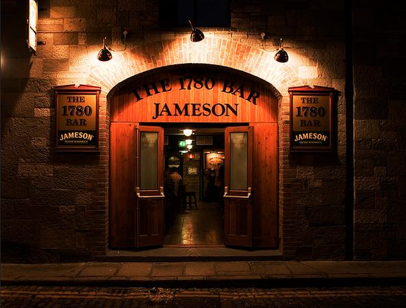 Jameson Distillery in Dublin Ireland