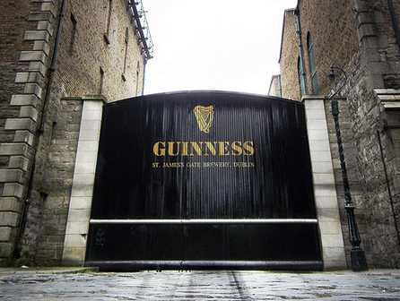 Guinness Brewery in Ireland