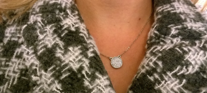Stitch Fix - Marlyn Sciff - Nanette Pave Circle Pendant Necklace