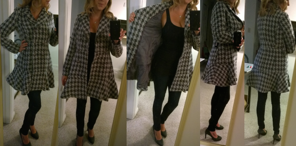 Stitch Fix - Coffeeshop - Iona Houndstooth Coat