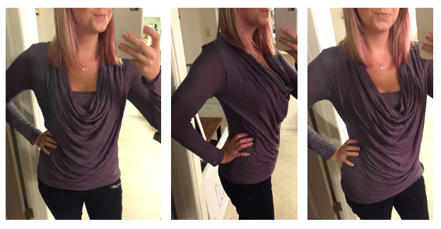 Stitch Fix - 41Hawthorn – Selfridge Cowl Neck Long Sleeve Top - All Sides
