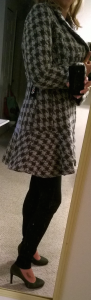 Stitch Fix - Coffeeshop - Iona Houndstooth Coat - Side View