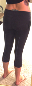 Wantables Fitness Box - Body Language Sportswear - Sierra Capri - Back