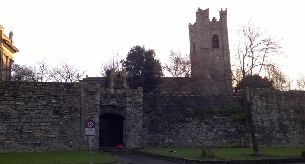 Dublin City Wall - Built in 1100