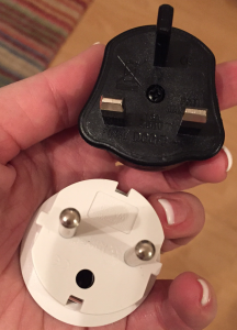 Ireland Adapter Issues back