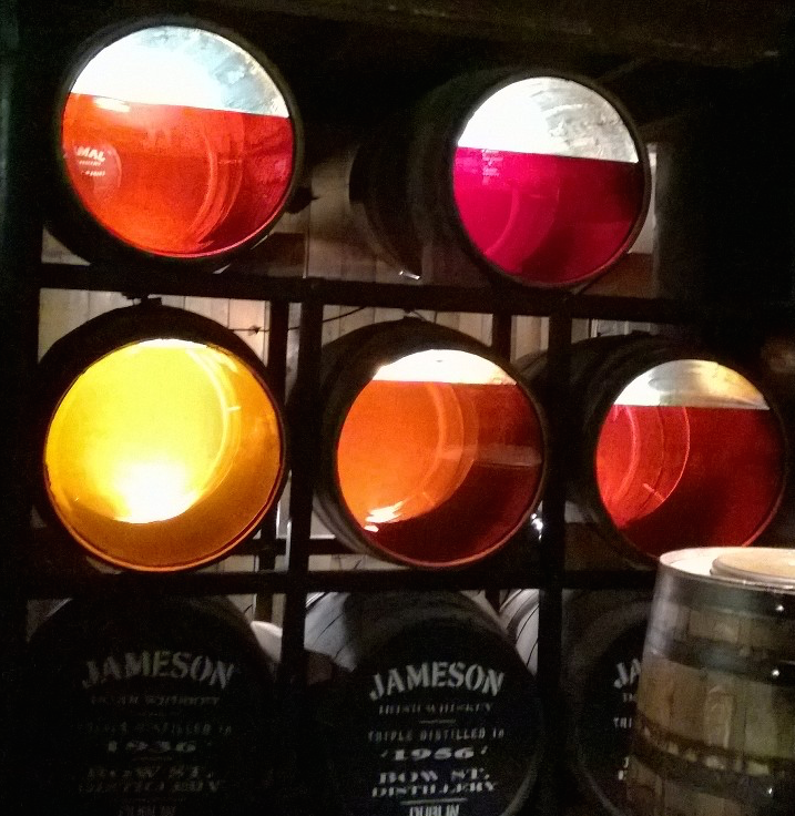 Jameson Whiskey at Different Levels of Aging