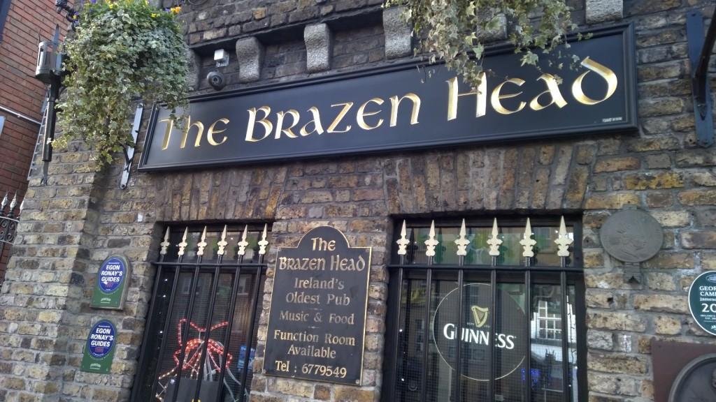The Brazen Head - Oldest Pub in Dublin