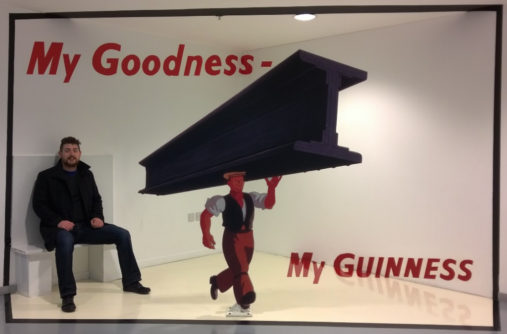 Jonathon McMahon - My Goodness - My Guinness in Dublin, Ireland