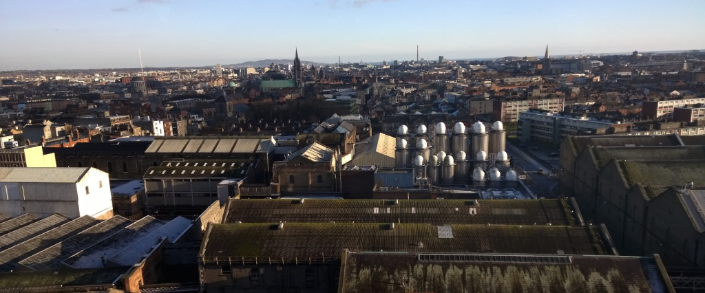 View from the Gravity Bar at the Guinness Storehouse