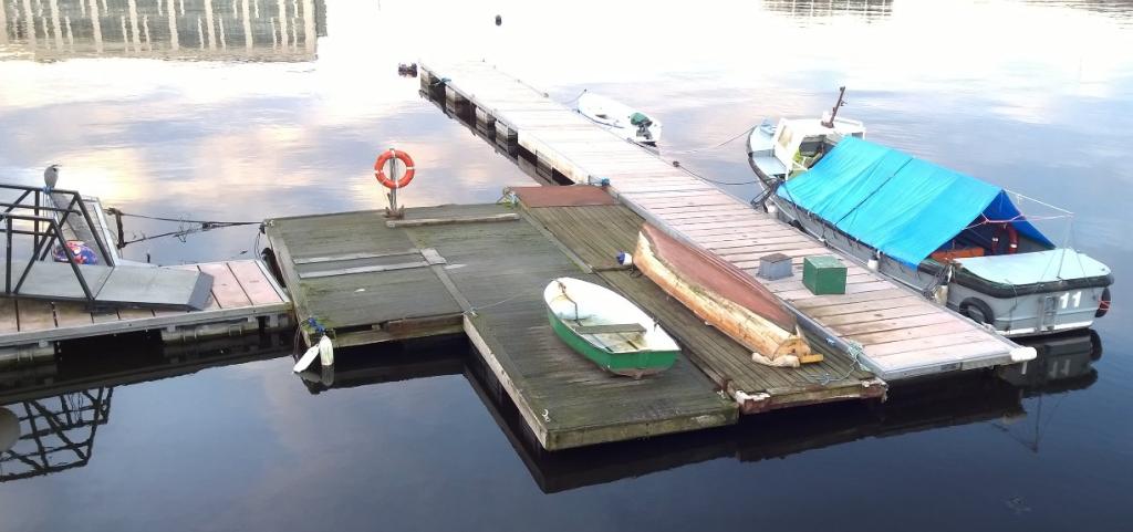 Boat in Dublin