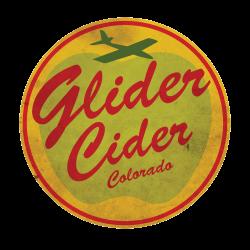 Glider Cider from Colorado Cider Company's Logo