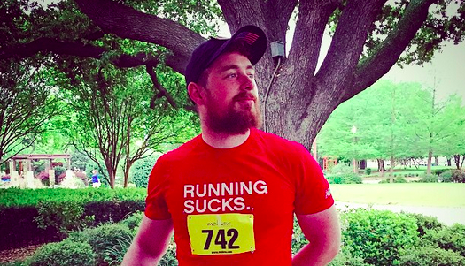 Jonathon McMahon - Running Sucks - Big D Marathon in Dallas Texas