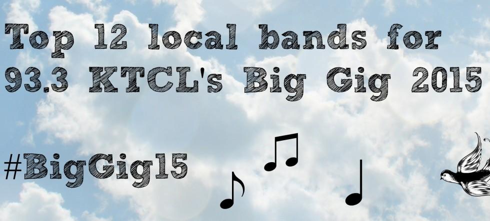 93.3 KTCL BigGig15 Local Bands