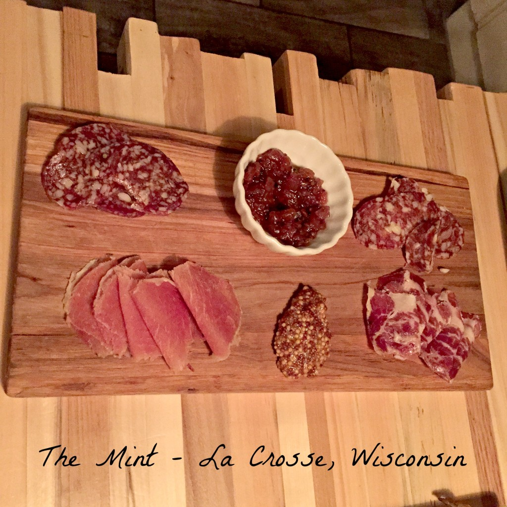 The Mint - meat platter - La Crosse WI