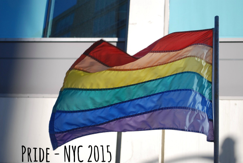 Pride Flag - NYC - #ProjectHustle