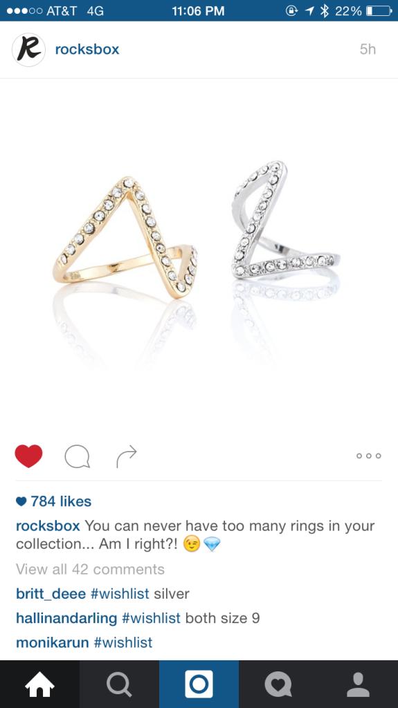 Rocksbox Instagram Integration