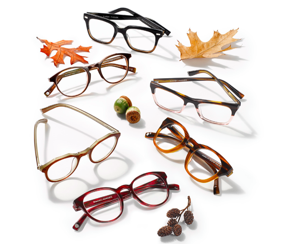 Warby Parker Fall Collection 2015 Colors