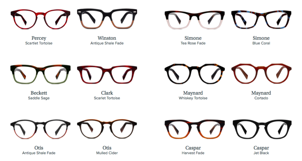 Warby Parker Fall Collection 2015 Selections - 1