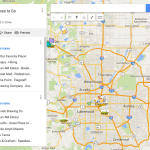 Creating Custom Maps in Google Maps for Travel