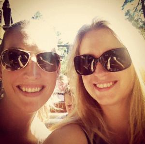 Just before riding Big Thunder Mountain with @joniklippert #disneymon29